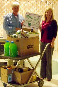 "Brunswick County 4-H Presents 148 ""Green"" Foods for the NC 4-H Centennial"