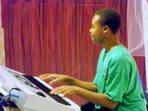 Bryan on the Keyboard