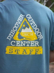 Volunteer from the UNCW High Ropes Course