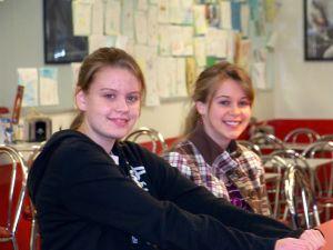 Carlyn and Tori